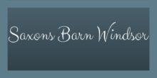Saxons Barn Windsor Logo